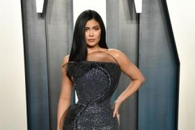 Kylie Jenner puts hourglass figure to best use at Oscars after-party