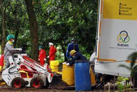 Indonesian authorities probe radiation contamination outside Jakarta