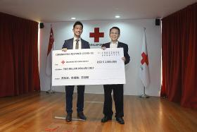 Singapore Red Cross donates over $2 million to virus victims in China