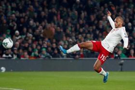 Denmark international striker Martin Braithwaite scored six goals in 24 appearances for Leganes this season.