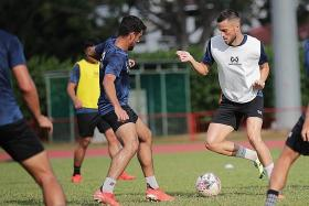 Ex-Newcastle youth player Charlie Machell eyes SPL title with Hougang