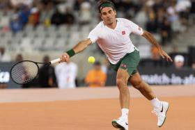 Roger Federer had lost to Rafael Nadal in the semi-finals of last year's French Open.