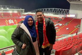 Liverpool fans on Facebook help scam-hit Singapore couple get tickets