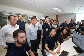 $100m set aside to build simulation facilities on all train lines here
