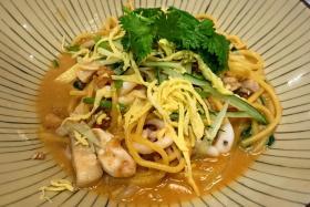 Nonya noodles.