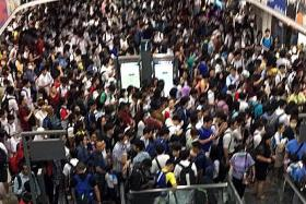 Power fault causes 6-hour disruption on North East Line