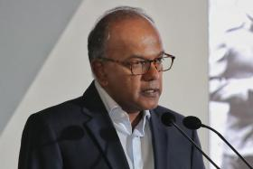 Minister for Home Affairs K. Shanmugam