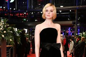 Elle Fanning continues her red carpet reign in 2020