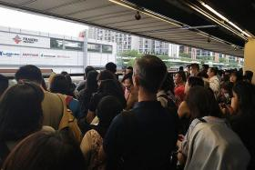 Track fault leads to train service disruption on North-South Line