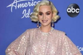 "Katy Perry attends the premiere event for ""American Idol"" hosted by ABC at Hollywood Roosevelt Hotel on February 12, 2020 in Hollywood, California."
