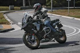 BMW R 1250 GS makes for a surprisingly comfortable ride