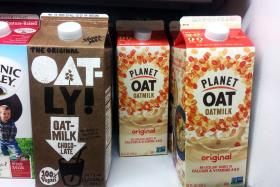 Oat predicted to overtake almond as king of plant-based milks