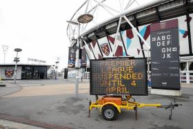 Football faces conundrums due to coronavirus: Richard Buxton