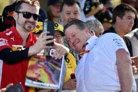 Mclaren CEO Zak Brown says pulling out of the Australian Grand Prix as a result of the positive test was an easy decision to make as a boss.