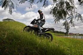 Head off the straight and narrow with the KTM 390 Adventure