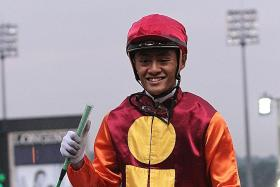 Apprentice jockey Syahir Abdul, is making some progress, but it may take a while longer before he can get back in the saddle.