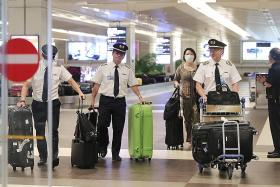 Aviation workers worry about making a living as airlines ground fleets