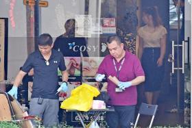 Man jailed after commotion at Ang Mo Kio massage parlour