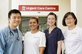 Staff at Alexandra Hospital explain urgent need to adapt amid Covid-19