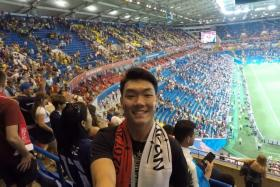 Mr Kevin Zin in the World Cup 2018 in Russia