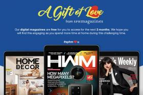 SPH Magazines offers 3 months of free access to some digital titles