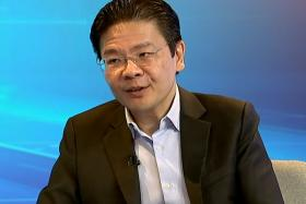 Minister for National Development Lawrence Wong