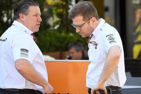McLaren boss Zak Brown: F1 in a very fragile state
