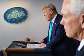 Trump says WHO 'really blew it' on coronavirus, threatens funding cut