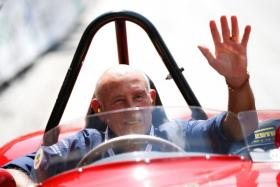 Former Formula One racer Stirling Moss died on Sunday (April 12), after battling a chest infection that he caught in Singapore in late 2016.