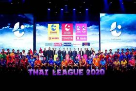 Thai league proposes 50% pay cut for players, officials