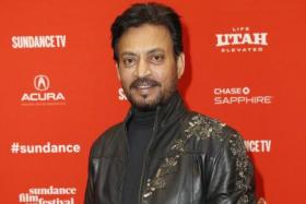 Indian actor Irrfan Khan arrives for the premiere of the movie 'Puzzle' at the 2018 Sundance Film Festival in Park City, Utah, USA, 23 January 2018.