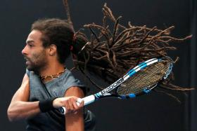 Germany's Dustin Brown (above) had famously defeated Rafael Nadal at Wimbledon in 2015.