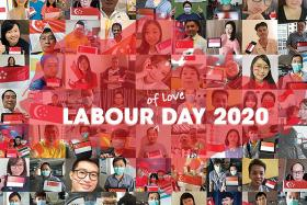Gain City celebrates Labour Day with photo collage of its 800 staff