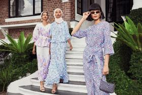 Even though they will be spending this year's Hari Raya at home, customers are still choosing to dress up for the occasion, much to the relief of clothing retailers.