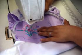 Protection in style: Chinese designer makes silk coronavirus masks