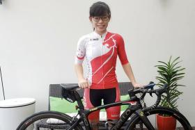 Switching gears to cycling pays off for Elizabeth Liau