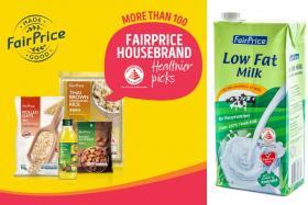 Look to FairPrice's Housebrand Healthier Picks for a better breakfast