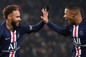 The French League ended the 2019/20 Ligue 1 season on April 10, handing the title to runaway leaders Paris Saint-Germain (above).