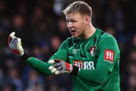 Bournemouth goalkeeper Aaron Ramsdale confirmed he had tested positive for Covid-19 in the second round of testing, three days after returning a negative result in a first batch of tests.