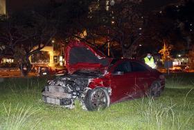 Suspected drug offender who caused four-vehicle crash arrested