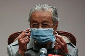 Dr Mahathir among five sacked from Bersatu party
