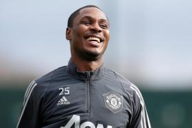 Odion Ighalo has scored four goals in eight appearances for Manchester United.