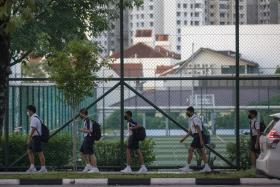 Streets and schools are busy again as Singapore reopens