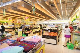 Some supermarkets ease purchase limits on essential items