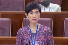 Manpower Minister Josephine Teo