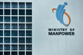 The Ministry of Manpower said that it is investigating the fatal incident.