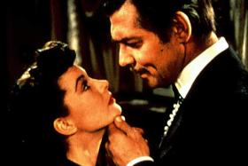 Vivien Leigh (left) and Clark Gable in Gone With The Wind