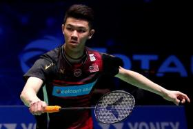 Malaysian shuttler Lee Zii Jia, 22, has climbed to world No. 10 this year.