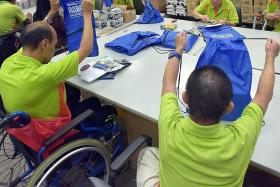 Halimah: Jobs for the disabled should be a national issue
