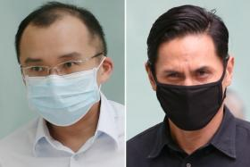 The court set to deliver its verdict on Kenneth Chong Chee Boon (left) and Nazhan Mohamed Nazi on July 10.